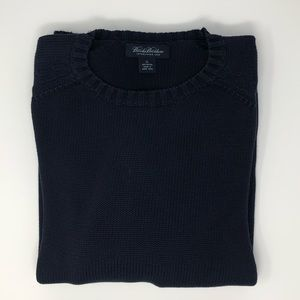 Brooks Brothers Crewneck Navy Sweater Size XL